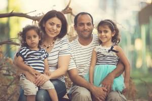 צילומי משפחה בפארק הירקון