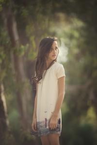 תמונות של בת מצווה ביער