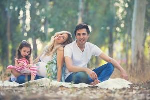 ענבר גרושקה תמונות משפחה בטבע